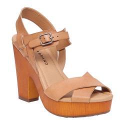 Women's Lucky Brand Nova Platform Sandal Clay Leather