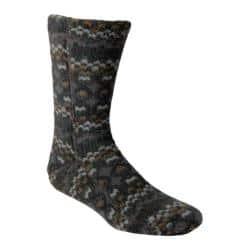 Acorn Versa Fit Socks Charcoal Cable Fleece https://ak1.ostkcdn.com/images/products/119/722/P18790305.jpg?impolicy=medium