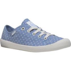 Women's Palladium Flex Lace PD Sneaker Blue/Antique White/Polka Dots
