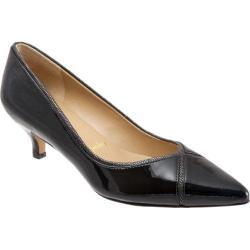 Women's Trotters Kelsey Pump Black Combo Leather