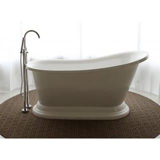 freestanding tub. Signature Bath Freestanding Tub Tubs For Less  Overstock com