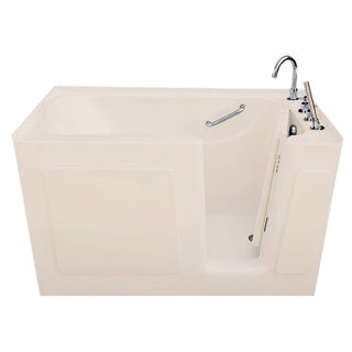 Signature Bath White Acrylic 47 x 30-inch Walk-in Air Bath