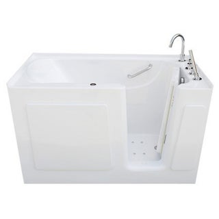 Signature Walk-in White 54 x 30-inch White Air Bath (2 options available)