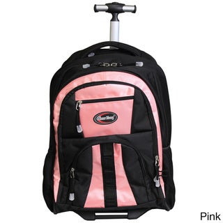 Adventure Carry-on Rolling Backpack for 17-inch Laptops