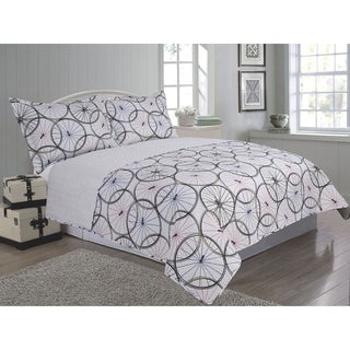 Windsor Home Avary Cotton 3 Piece Quilt Set Prices