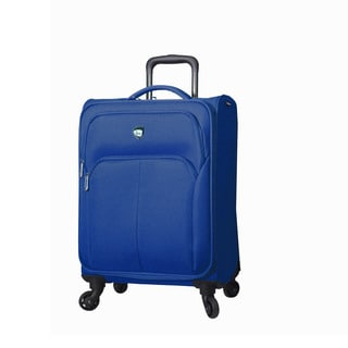 Mia Toro Italy Vernazza 21-inch Expandable Carry-on Spinner Suitcase