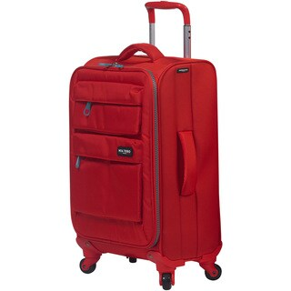 Mia Toro Italy Dolomiti 19-inch Expandable Carry-on Spinner Upright Suitcase