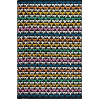 Fab Habitat Recycled Cotton Avotovo Multi Rug