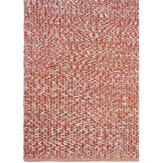 Handmade Fab Habitat Recycled Cotton Toledo Rust Rug (India)