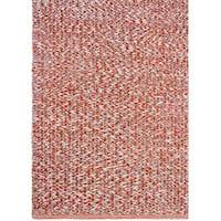 Handmade Fab Habitat Recycled Cotton Toledo Rust Rug (India)