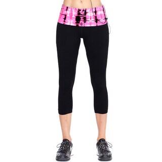 Nikibiki Activewear Women's Butterfly Bamboo Capri Pants