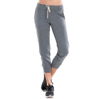 Nikibiki Women's Cotton/Polyester Activewear Fleece Drawstring Joggers