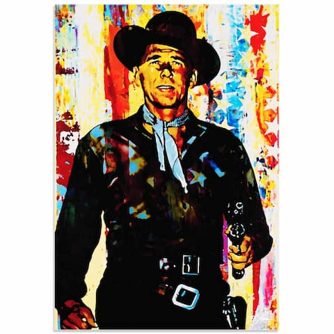 Mark Lewis 'Ronald Reagan Generation Extinction' Limited Edition Pop Art Print on Metal or Acrylic