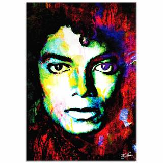 Mark Lewis 'Michael Jackson Study' Limited Edition Pop Art Print on Metal or Acrylic