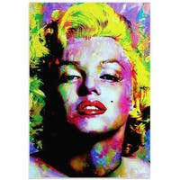 Mark Lewis 'Marilyn Monroe Relinquished Beauty' Limited Edition Pop Art Print on Metal or Acrylic