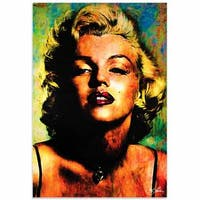 Mark Lewis 'Marilyn Monroe Insatiable' Limited Edition Pop Art Print on Metal or Acrylic