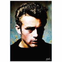 Mark Lewis 'James Dean Gentle Trust' Limited Edition Pop Art Print on Metal or Acrylic