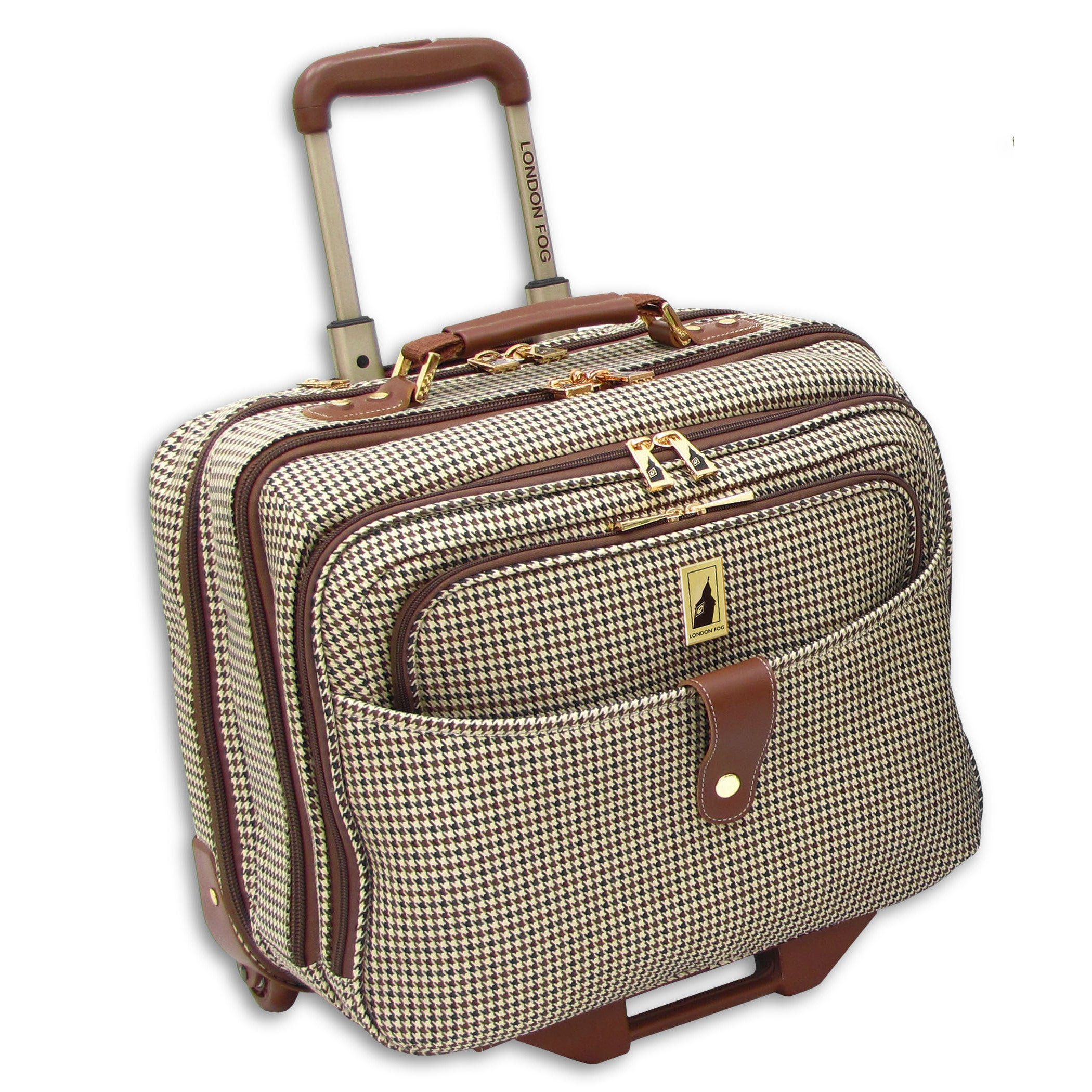 London Fog Chelsea Collection 17-inch Rolling Laptop Tote...