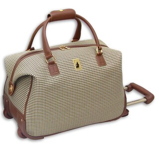 London Fog Chelsea 20-inch Carry-on Rolling Club Duffel Bag