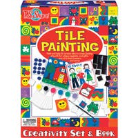 T.S. Shure Tile Painting Creativity Set and Book