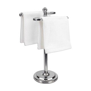 Home Basics Double Hand Towel Holder