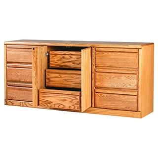 Forest Designs Bullnose Nine Drawer Dresser