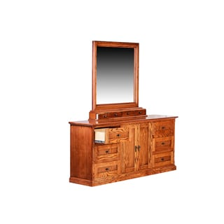 Forest Designs Mission Plain Mirror for Dressers (Mirror Only)