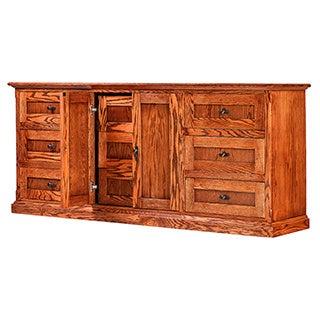 Forest Designs Mission Nine Drawer Dresser
