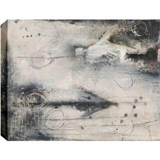 Hobbitholeco. Christina Lovisa, Apparition, Abstract, Gel Brush Finish Canvas Wall Art Decor, Gallery Wrapped 34X46