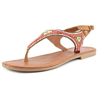 Madden Girl Women's Riddlee Multicolored Synthetic Sandals