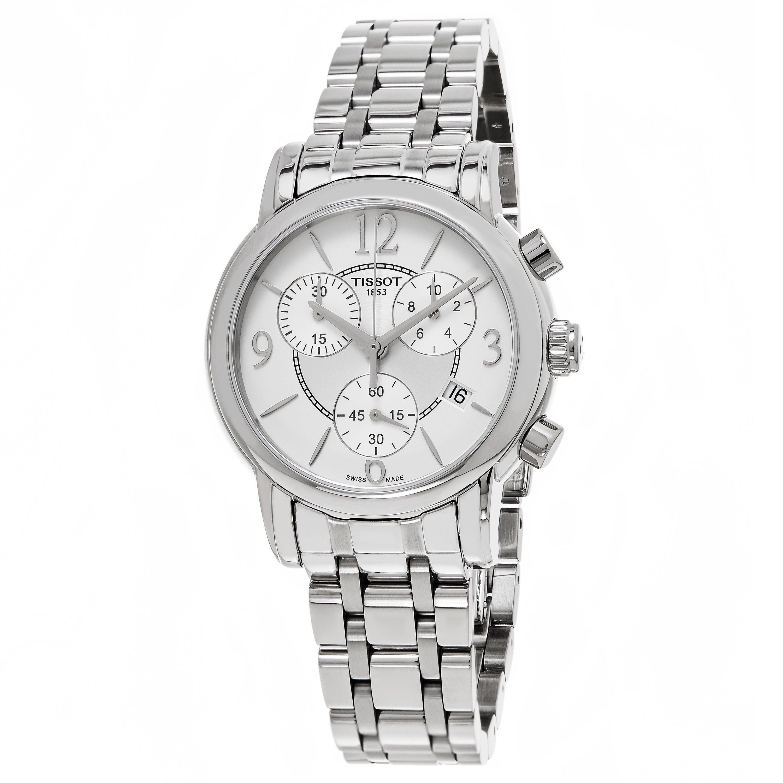 Tissot Men's T050.217.11.017.00 'Dress Port' Silver Dial ...