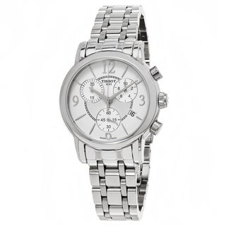 Tissot Men's T050.217.11.017.00 'Dress Port' Silver Dial Stainless Steel Chronograph Swiss Quartz Watch