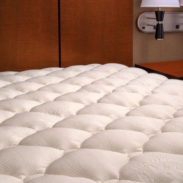 Shop Extra Plush Rayon From Bamboo Top Mattress Pad Cal