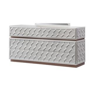 Global Leather Cream Dresser