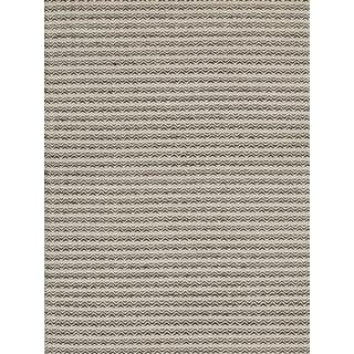 Handmade Flat Weave Chevron Rug (4' X 6')