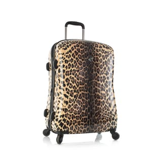Heys Leopard Panthera 21-inch Fashion Spinner Carry-on Hardside Upright Suitcase