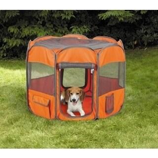 Oxgord Cat Dog Play Pen Comfort Travel Portable Pop Up