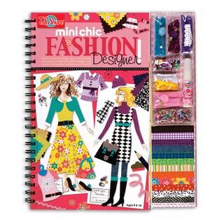 T.S. Shure Mini Chic Fashion Designer Book and Kit
