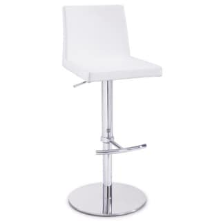 Somette Modern Pneumatic Gas Lift Adjustable Swivel Stool