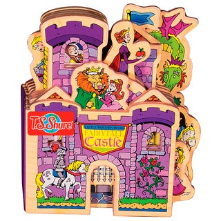 T.S. Shure Fairytale Castle Wooden Story Book