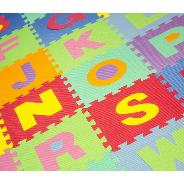 Shop Multicolored Foam 26 Piece Floor Alphabet Puzzle Mat