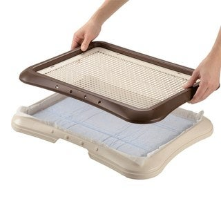 Richell Paw Trax Mesh Dog Potty Training Tray