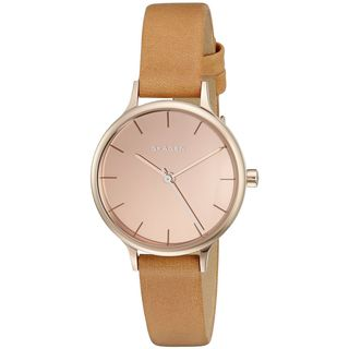 Skagen Women's SKW2412 'Anita' Brown Leather Watch