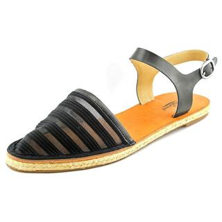 Lucky Brand Women's 'Romonia2' Black Fabric Sandals