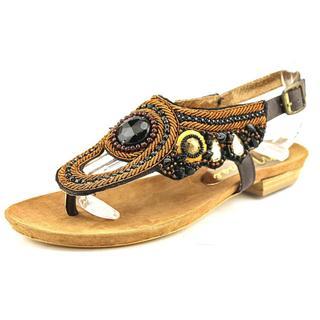Matisse Women's Rune Brown Leather Dress Sandals