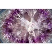 Marmont Hill 'Crystallized Amethyst' Painting Print on Canvas - Multi-color