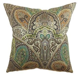 La Ceiba Paisley Throw Pillow Cover