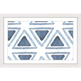 Marmont Hill 'Triangle Inset' Framed Art Print