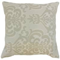 Sarane Damask Throw Pillow Cover