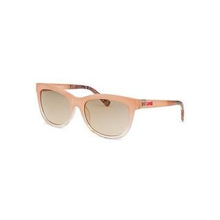 Just Cavalli Women's Pink Plastic Square Gradient Sunglasses